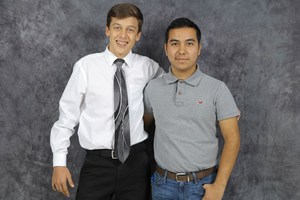 Pictured are Stefan Jabs and Alexis Aranda.