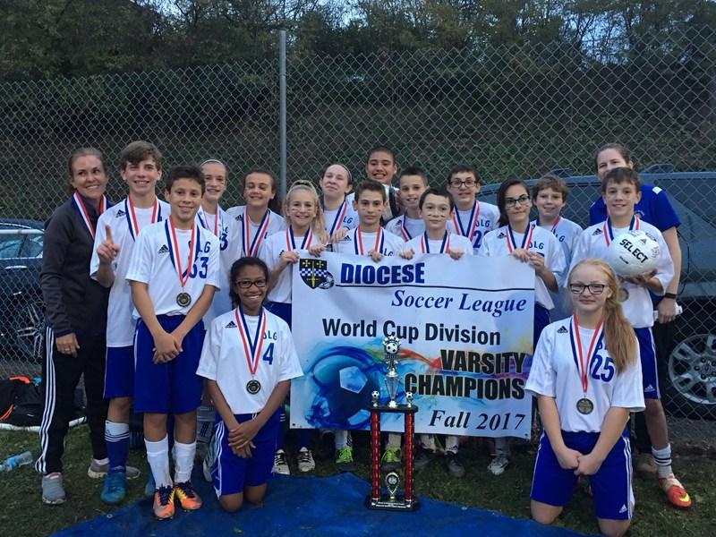 Varsity Soccer Team - World Cup Diocesan Champions! Thumbnail Image