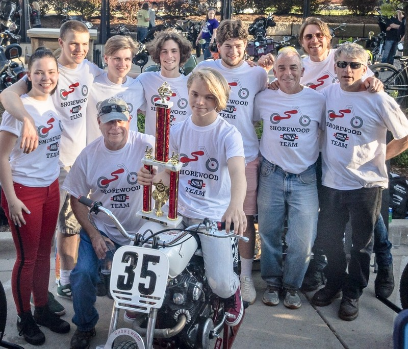Shorewood BUILD Motorcycle Team