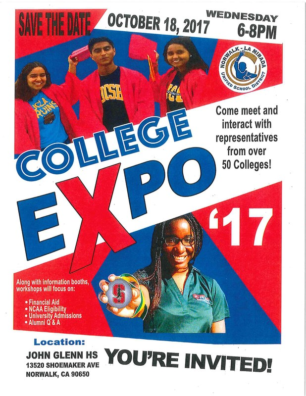 College Expo 17: Click Here for More Details Featured Photo