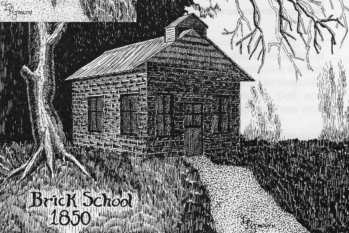 Brick school~ 1850