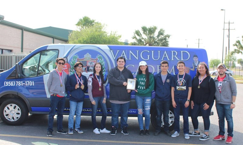Rembrandt Secondary Science UIL Places first in District 32-3A - advances to State! Featured Photo