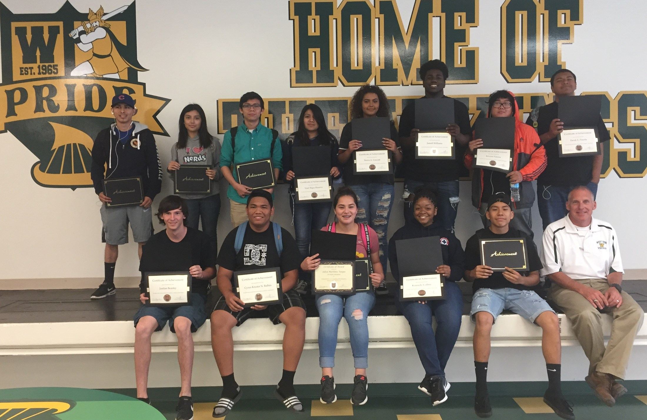 HONOR ROLL SESSION 3 2016-17 WEST