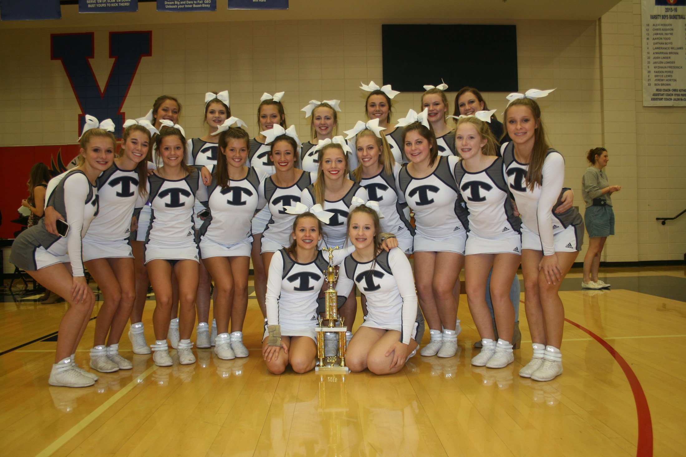 2016 Competition Cheerleading Champions