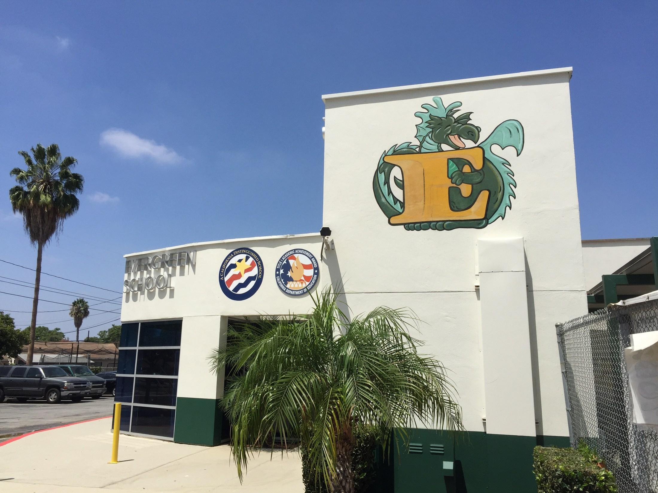 Photo of Evergreen Elementary School