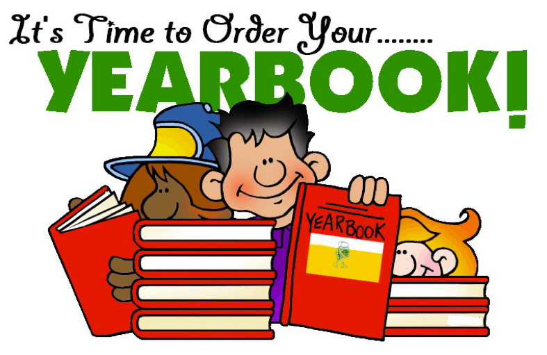 Yearbooks are on sale now. Thumbnail Image
