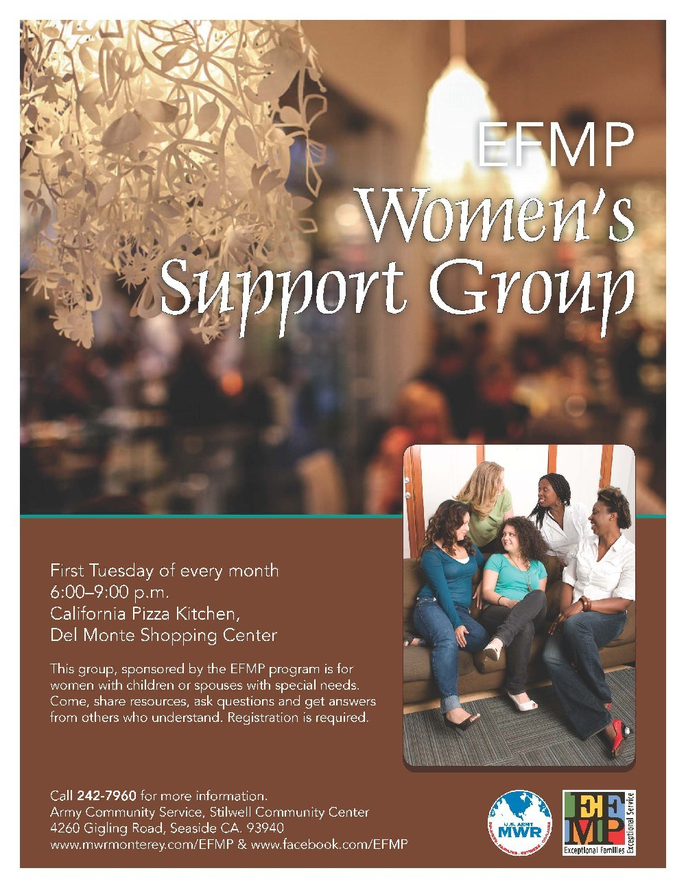 Flyer: EFMP Women's Support Group