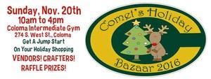 Comets Holiday Bazaar Logo