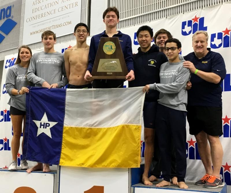 Boys swim team wins 2nd consecutive state title Featured Photo