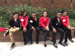 Photo of BMS JAG Girls at Lafayette Conference