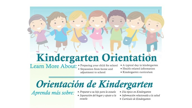 District 44 Kindergarten Orientation     (D44 Orientación de Kindergarten) Thumbnail Image