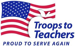Troops to Teachers Logo