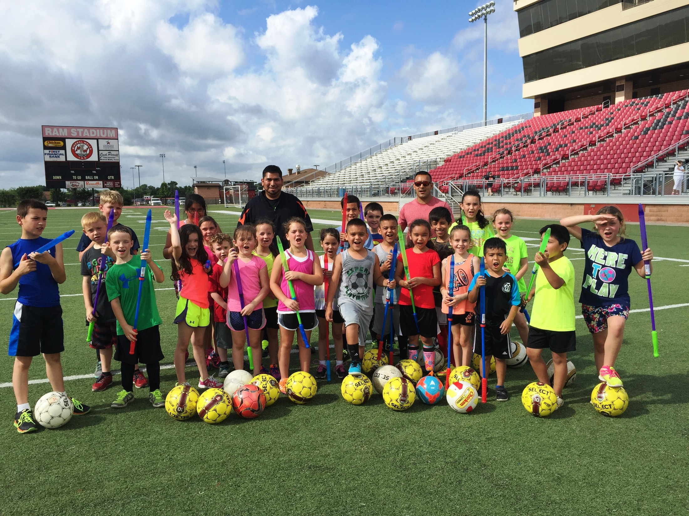 Soccer Camp Team picture