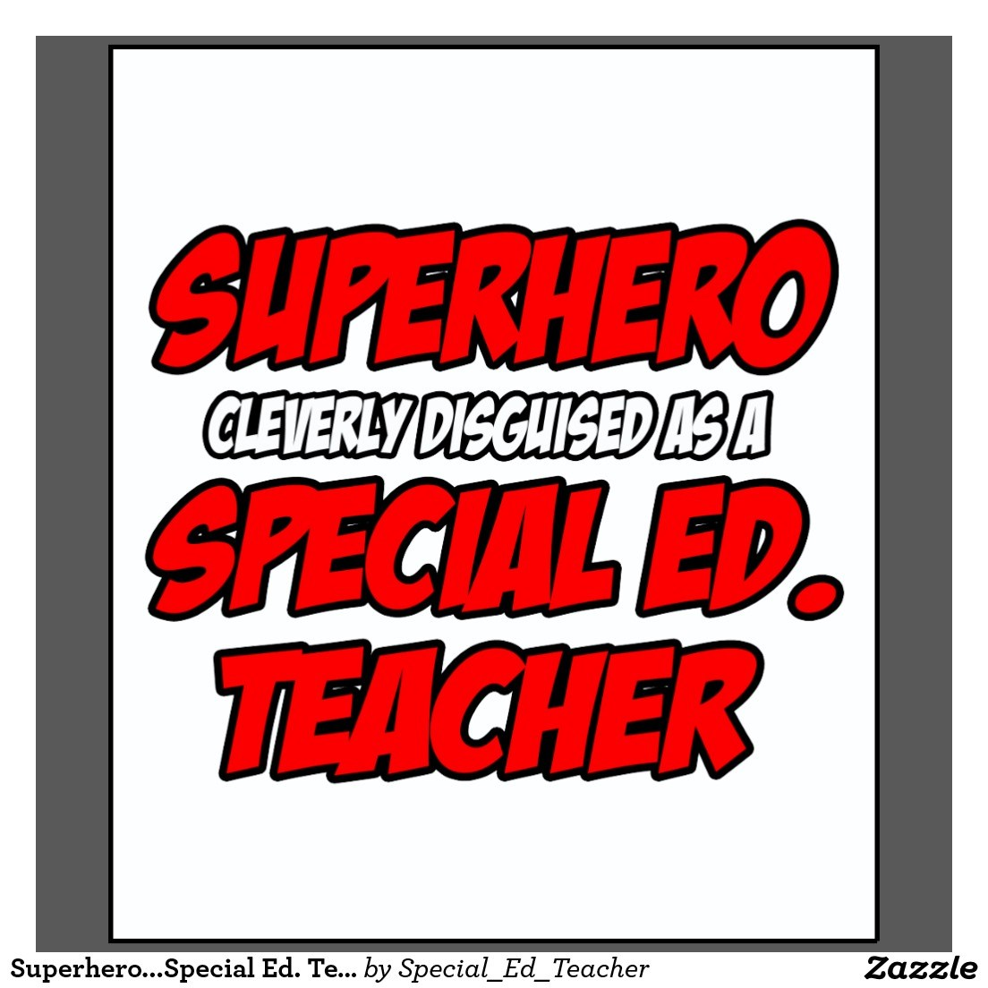 Special Ed Teacher