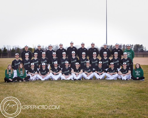 2018 Varsity Baseball team photo