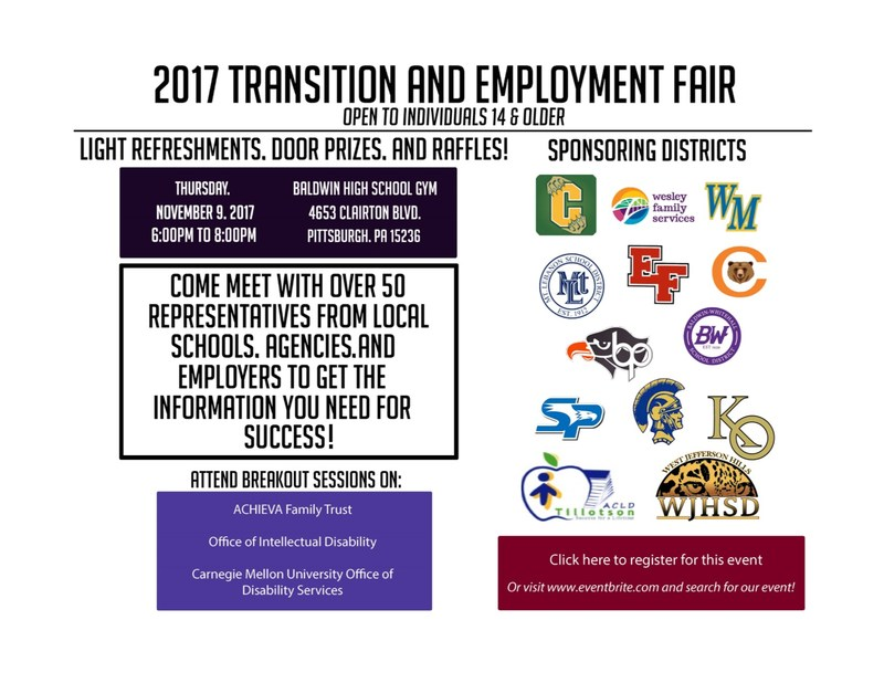Transition Fair Flyer