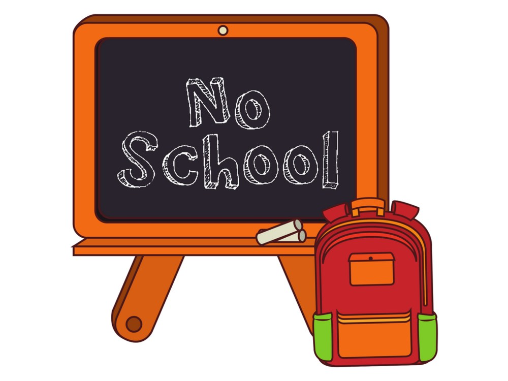 airport community schools rh airportschools com no school clip art teachers inservice no school clipart in red