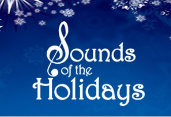 sounds of the holiday title logo