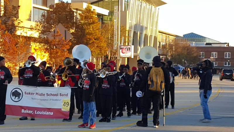 Baker Middle Band Marches In Kiwanis Christmas Parade Thumbnail Image