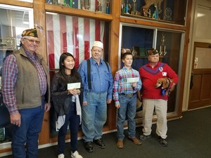 VFW Essay Contest Winners