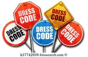 Dress Code signs