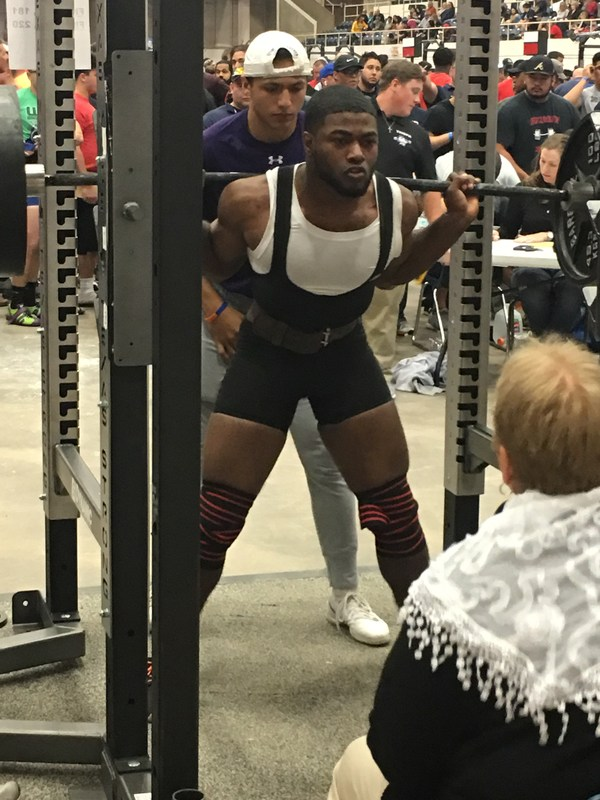 Powerlifter places 6th at Meet