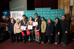 UC Gold Winners with UC Staff