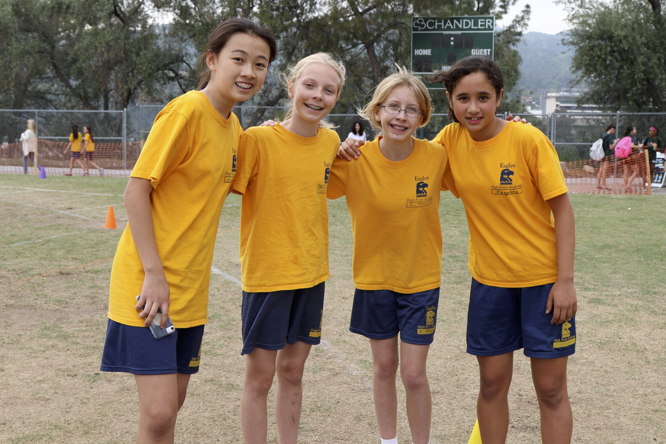 track and field relay team