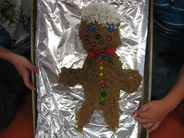 Our Gingerbread Man!