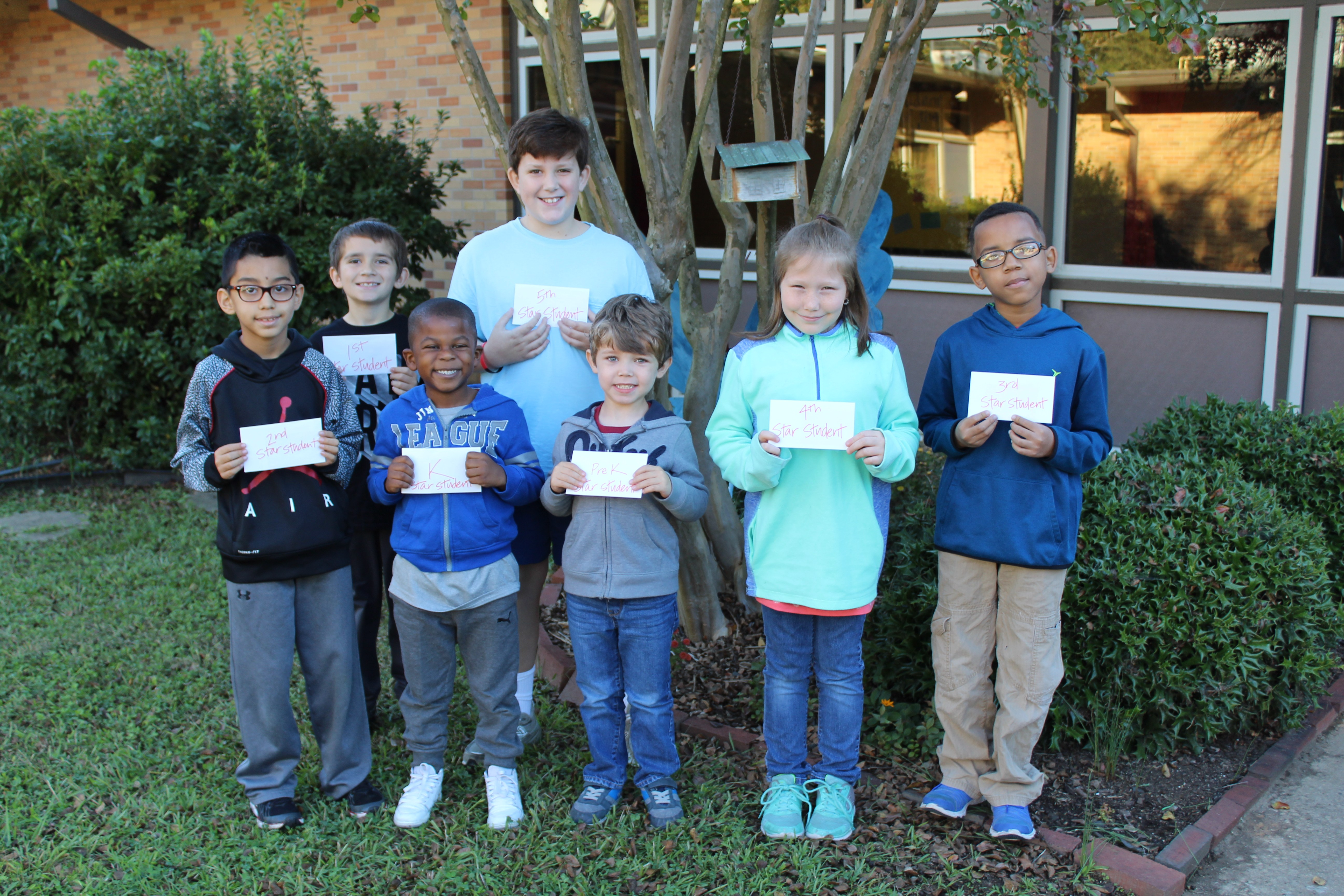 star students of the month photo
