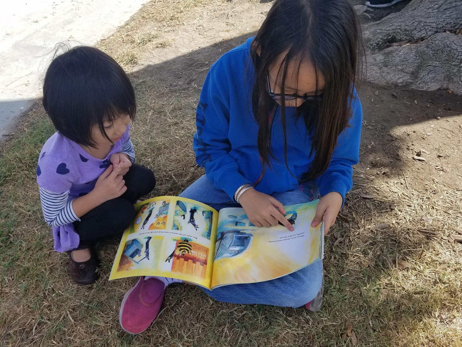 Kinder Reading Buddies