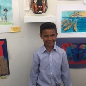 St. Mary's Third Grader Wins 3rd Place at Festival of the Arts Thumbnail Image