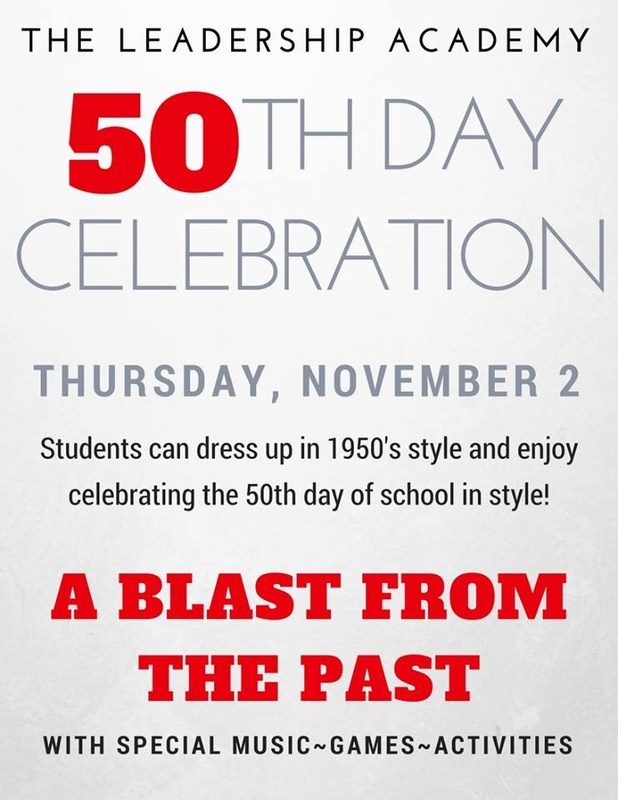 50th Day of School Celebration Featured Photo