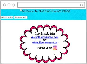 Link to Ms. Blackburn's Classroom