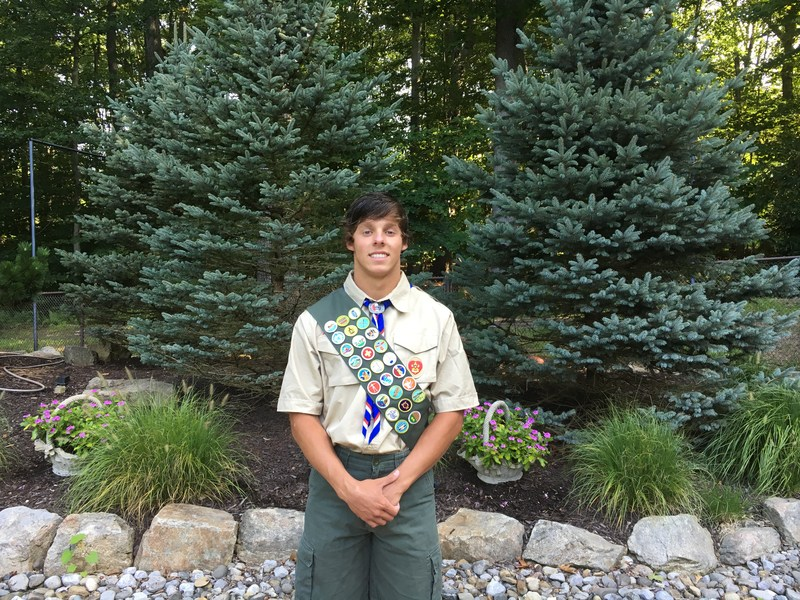 Keith Matirko '18 earns Eagle Scout Rank Featured Photo