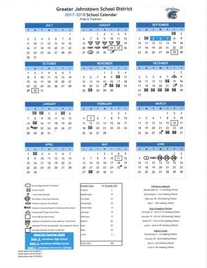 Updated 2017-18 School Calendar