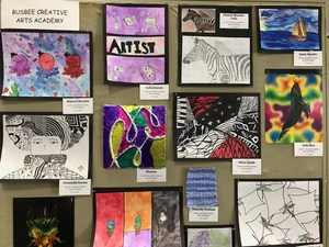 Pieces in Lexington Two's District Art Show