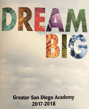 Dream Big - Cover of yearbook