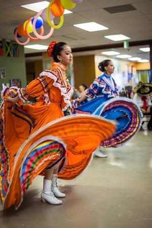 latin dancing lady