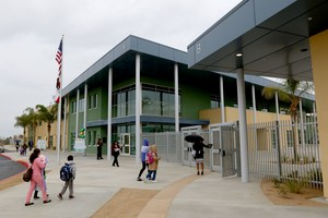 Exterior of Edgemont Elementary School