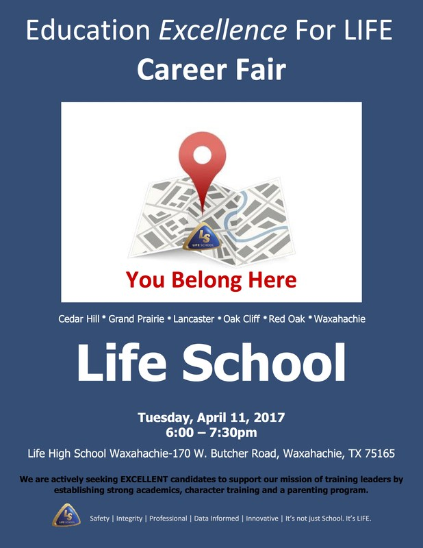 Education Excellence for Life Career Fair