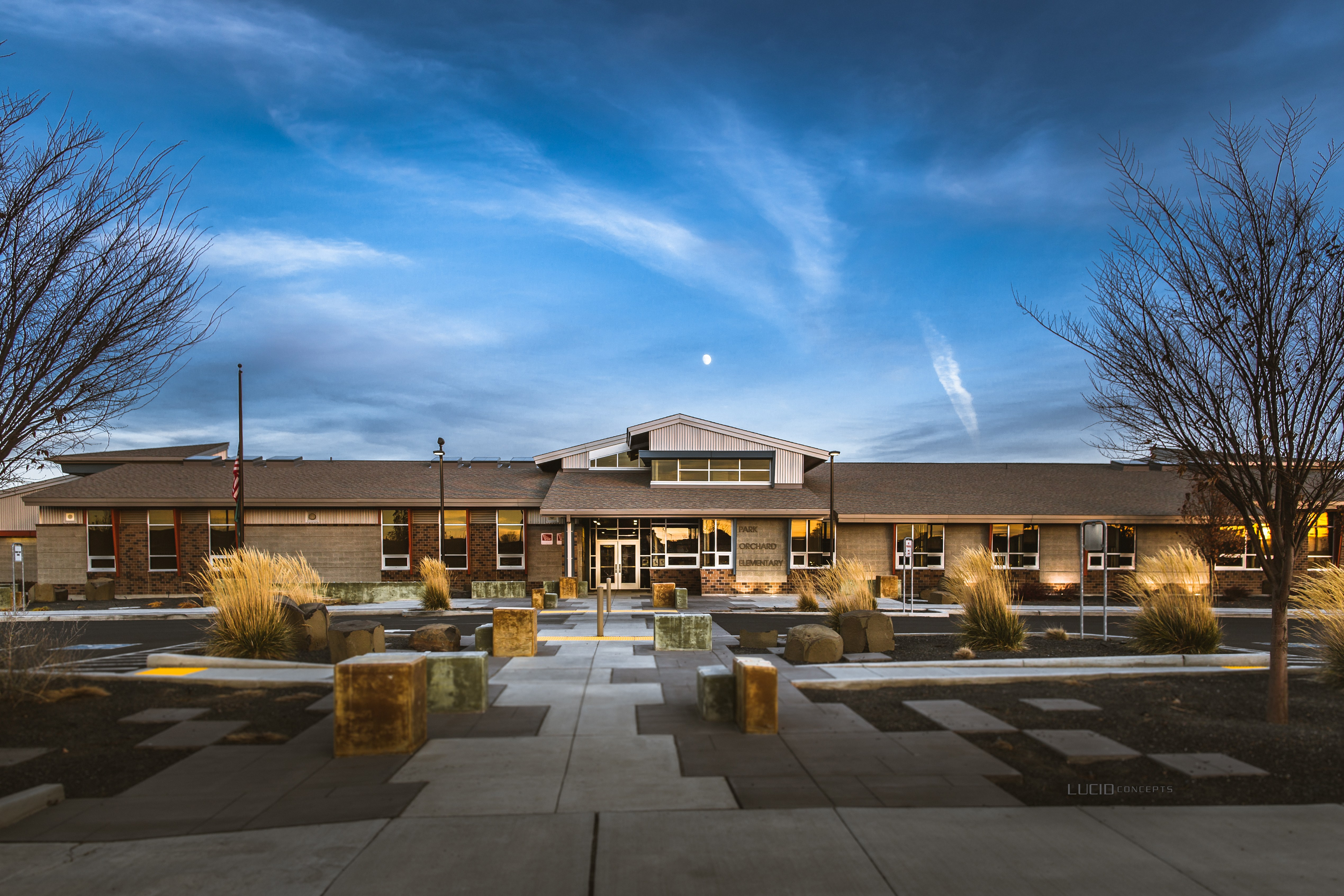 Park Orchard Elementary, built in 2011