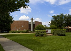 Bishop Kenny High School front entrance to campus