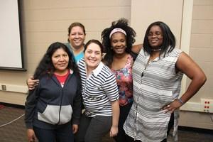 PTA leaders from Oak Meadows Elementary