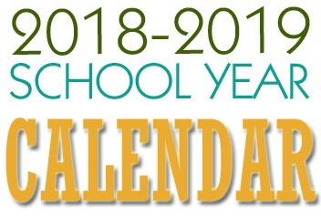 2018-2019 School Year Calendar Approved Thumbnail Image