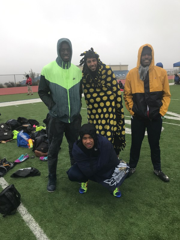 Boys 4x1 team take league in 45 degree weather Featured Photo