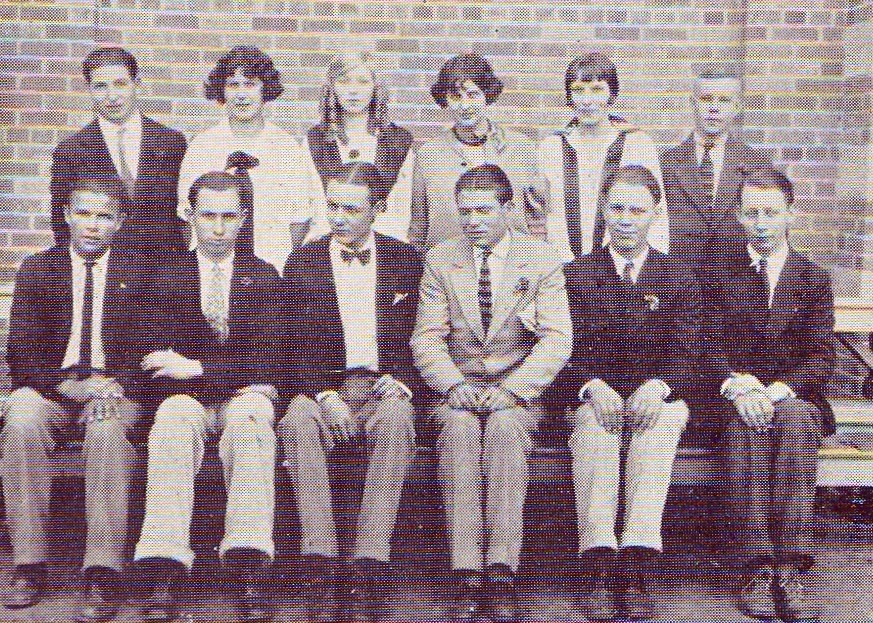 Cast of the School Play