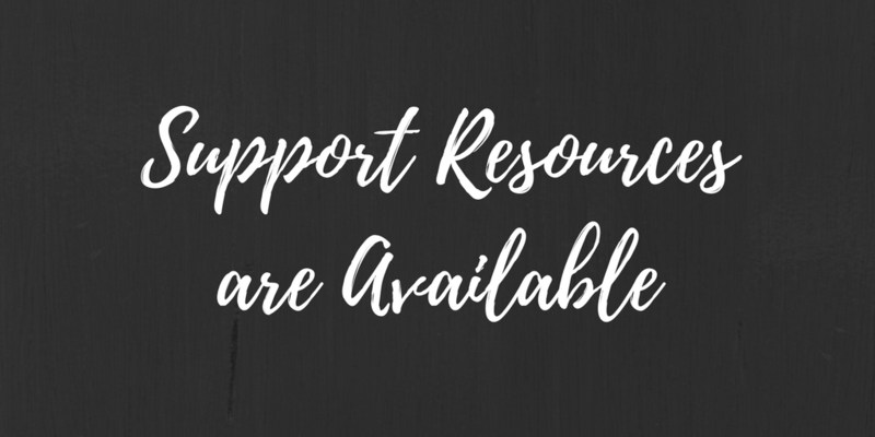 Support Resources Available Thumbnail Image