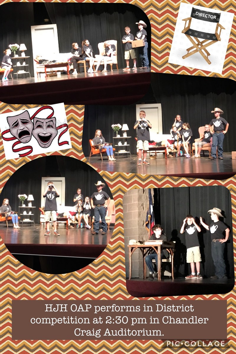 HJH OAP hosts District 10-AA Competition Thumbnail Image