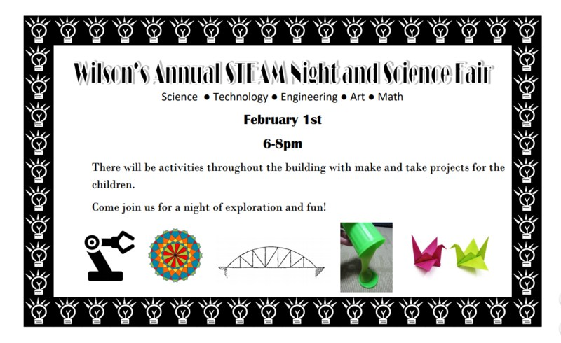 STEAM Night at Wilson! Thumbnail Image